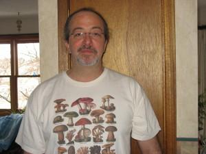 One of my many Mushroom Shirts!